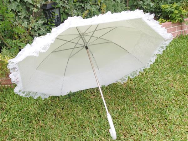 ふわふわの傘を購入♪_e0046950_22451042.jpg