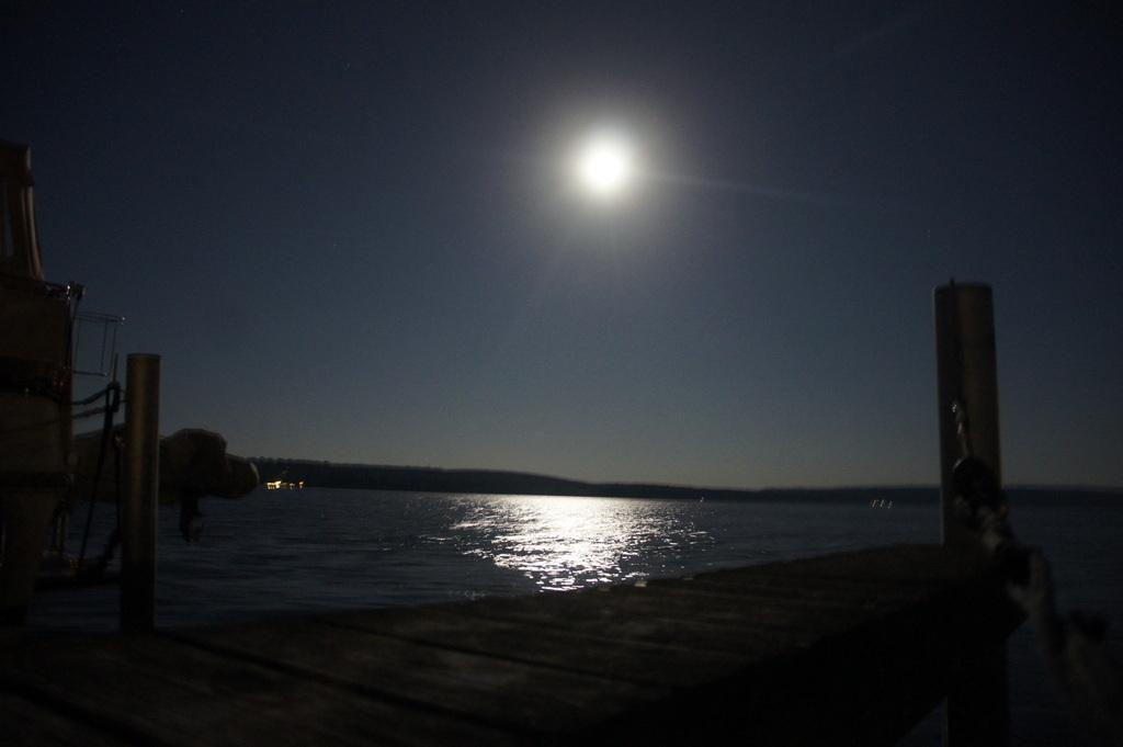 Schwielow湖の夜。_c0180686_177364.jpg