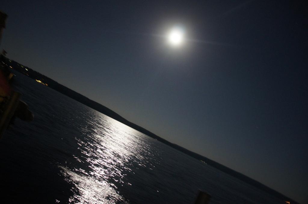 Schwielow湖の夜。_c0180686_1774641.jpg