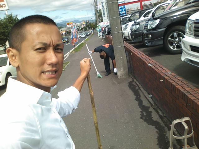 ランクルトミー札幌店(^o^)開店準備中!_b0127002_1031869.jpg