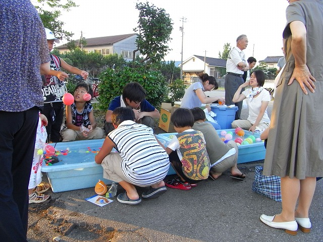 小島1区自治会納涼祭_c0194417_1044342.jpg