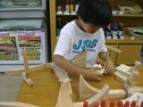 夏休み 木工教室 開催!!_f0206159_2021154.jpg