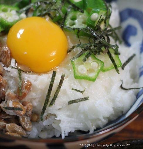 ガーリックチーズ焼きチキン ☆ 牛丼&とろネバ麦ご飯♪_c0139375_1221472.jpg