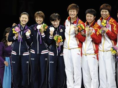 ロンドン五輪卓球日本代表の対戦相手は?:どの国でも中国人相手だった!?_e0171614_18143226.jpg