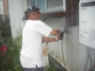 水漏れ工事と浴室確認。_f0031037_220599.jpg