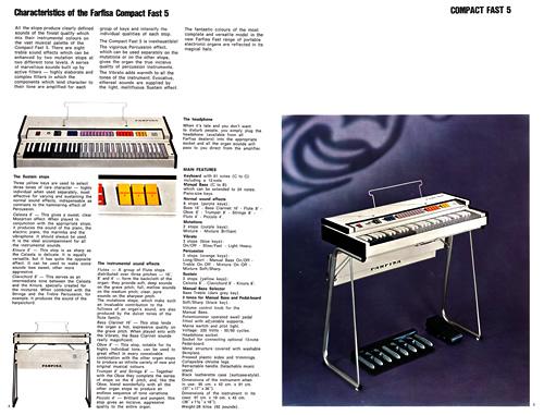 Farfisa COMPACT FAST 1970 Catalogue_e0045459_22124852.jpg