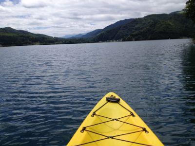 青木湖でカヤック!_a0126590_14545014.jpg