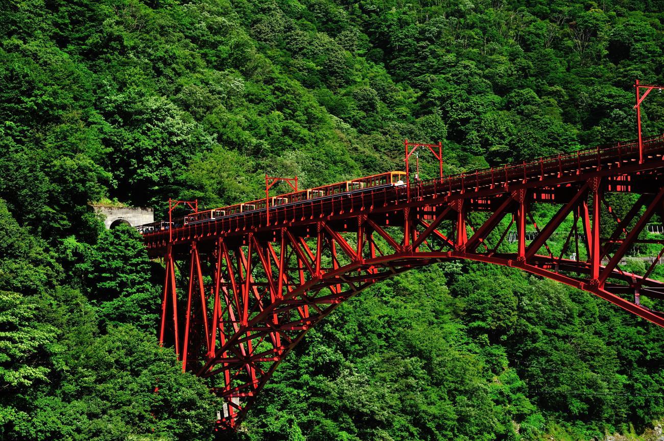 トロッコ電車の黒部峡谷へ_c0220824_9511486.jpg