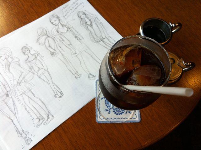 日仏夏のコーヒータイム_e0262430_10493369.jpg