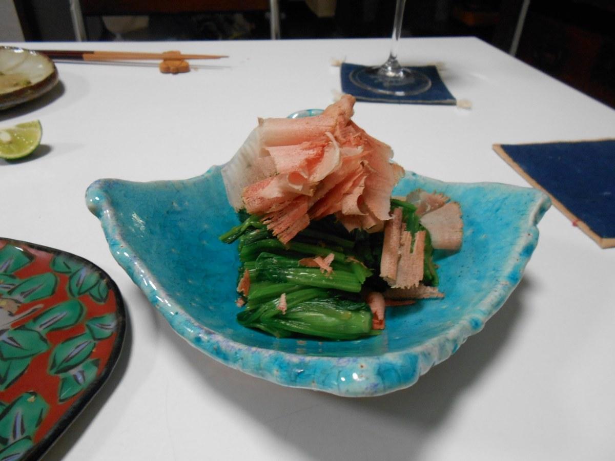 ラストのご飯が特にお気に入り サザエと冷や汁_a0095931_11305763.jpg