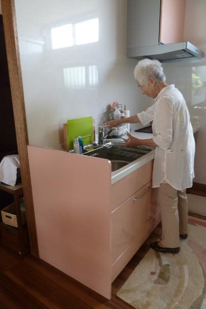 ピンクのキッチン☆_c0152341_21214364.jpg