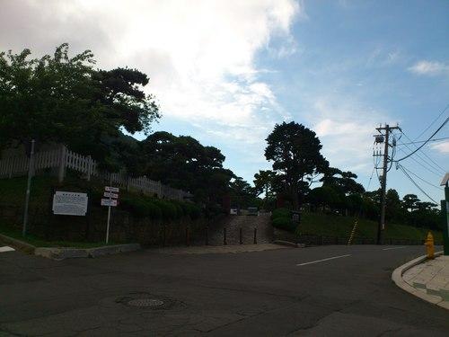 函館山ロープウェイ付近_b0106766_2317113.jpg