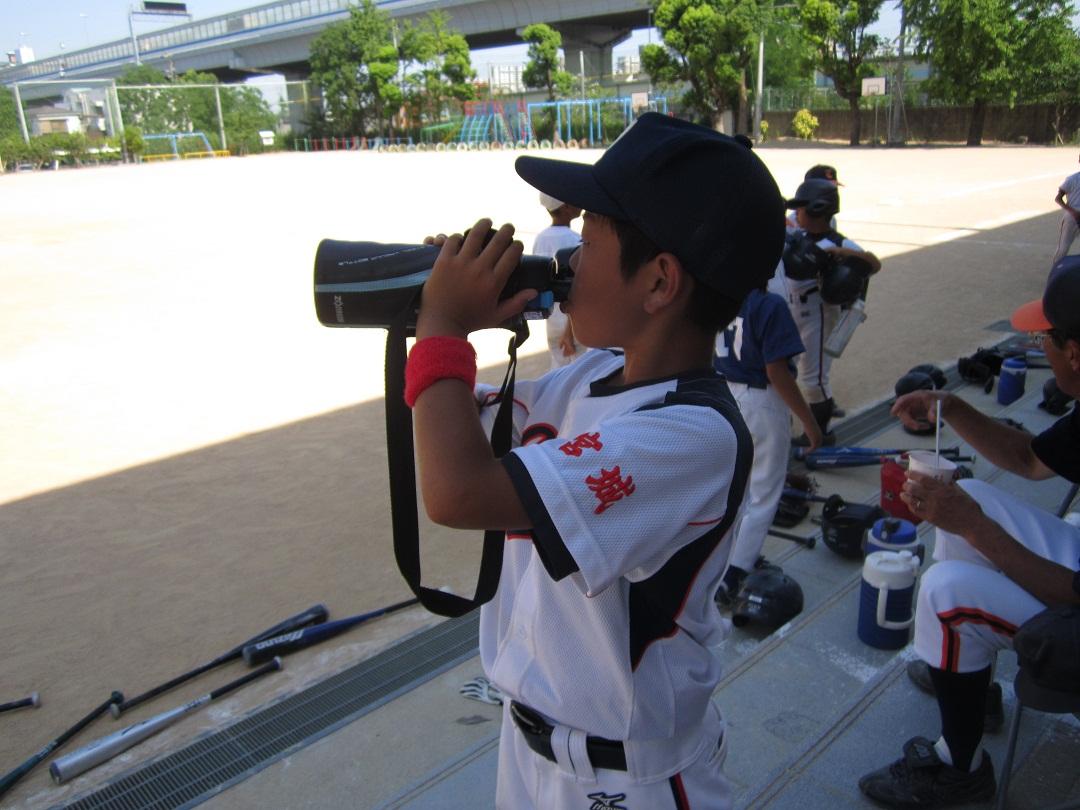 石巻 少年野球交流試合_f0205367_1628392.jpg