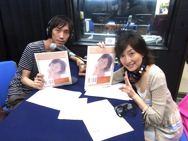 佐藤ひろ美のひろらじは中山真斗(エレガ)氏と「RiSE」について語っています。_e0049681_23442373.jpg