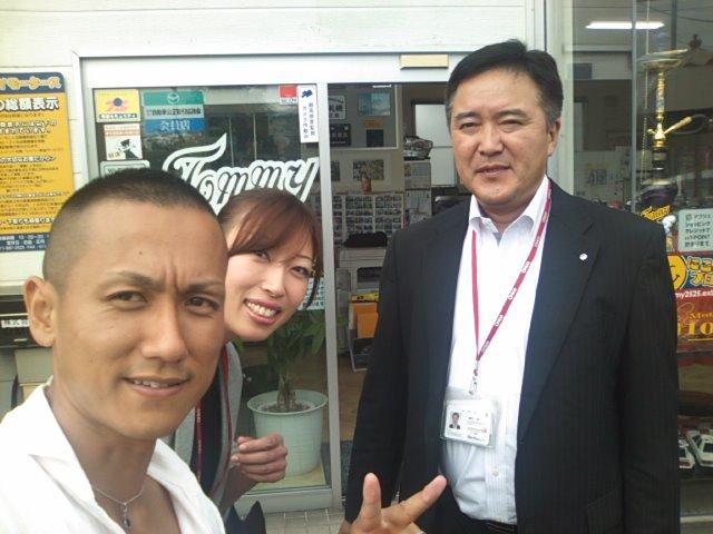 オリコ 支店長 &にしおっちご来店_b0127002_14372918.jpg