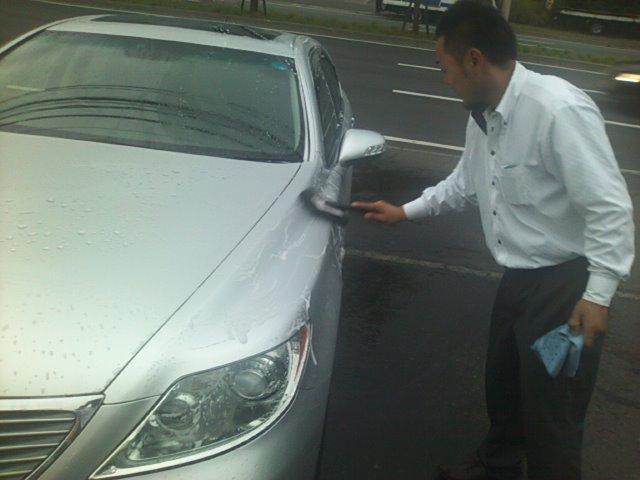 まさお 洗車始める(^^)_b0127002_182646.jpg