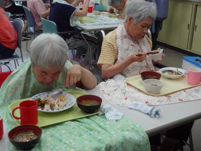 8/9ちらし寿司と盆汁!_a0154110_9324651.jpg