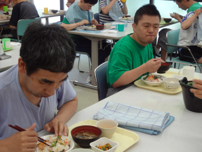 8/9ちらし寿司と盆汁!_a0154110_9325141.jpg