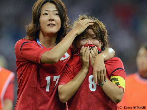 惜敗!★なでしこジャパン★良いゲームでした。でも悔しい・・・_d0156040_18264919.jpg