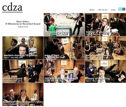 NYのクラシック音楽家グループcdzaによる街角人間ジューク・ボックス_b0007805_0164252.jpg