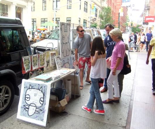 家族で楽しめる安全でアーティスティックなニューヨークのSOHO_b0007805_2291546.jpg
