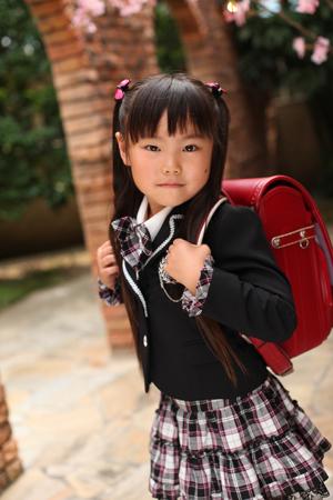 すみれちゃん☆入学祝い☆ドレス_b0203705_17323844.jpg