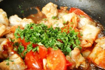鶏のトマトキムチ炒め_d0104926_6334636.jpg