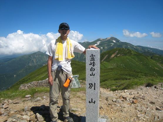 恒例の白山登山へ_e0121558_22533663.jpg