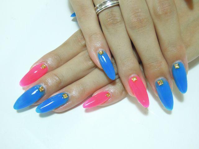 Neon Color Nail_a0239065_2044866.jpg