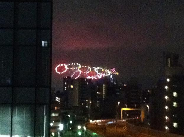東京湾岸花火2012 マイ・バルコニーから見る_f0186787_2150442.jpg