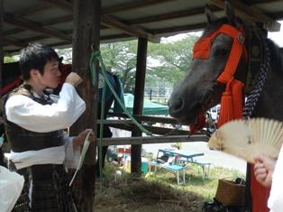「福島 相馬野馬追い 報告」             残暑お見舞い申し上げます_e0088256_23423639.jpg
