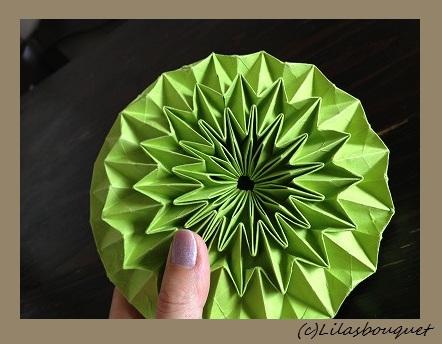 折り紙の マジックボール 折り紙 : lilasbq.exblog.jp