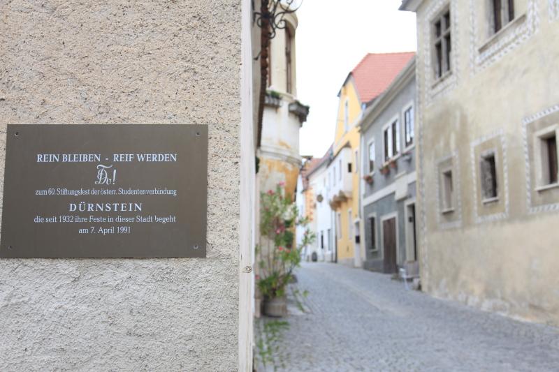 中世の町並みデュルンシュタイン_c0187779_723660.jpg