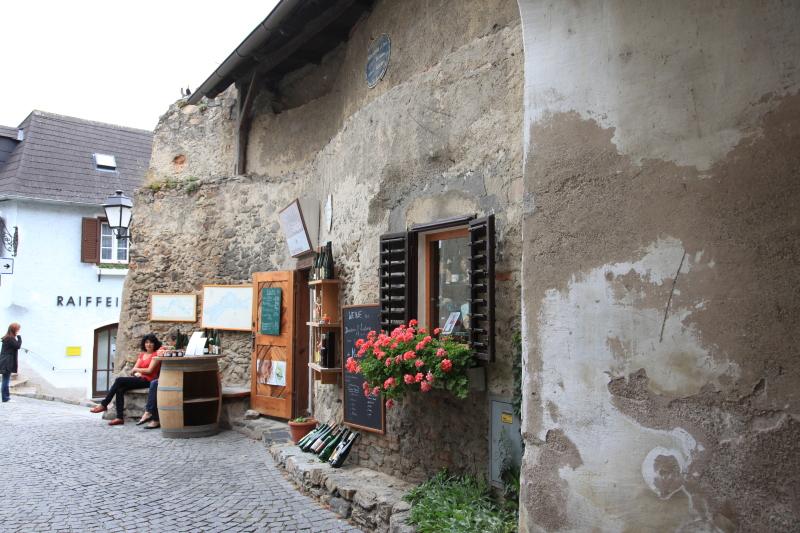 中世の町並みデュルンシュタイン_c0187779_81856.jpg