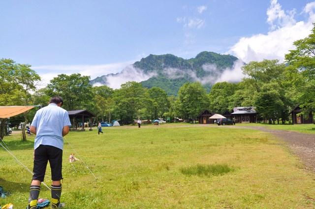 戸隠キャンプ2012  初日_a0126590_852639.jpg