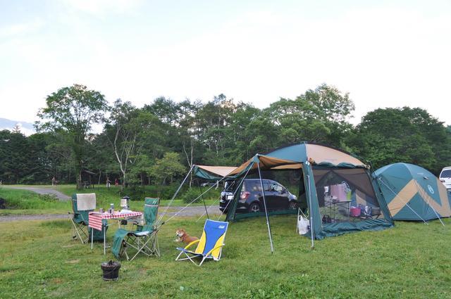 戸隠キャンプ2012  初日_a0126590_90146.jpg
