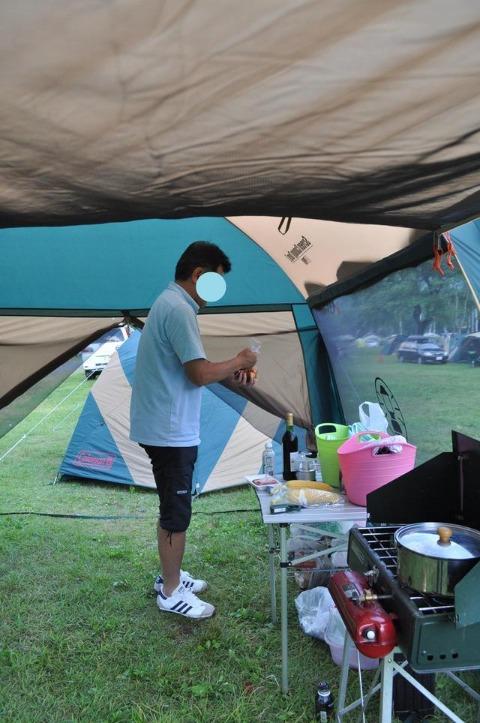 戸隠キャンプ2012  初日_a0126590_911410.jpg
