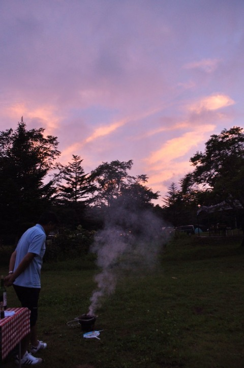 戸隠キャンプ2012  初日_a0126590_9291024.jpg