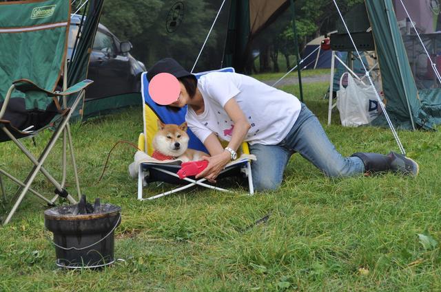 戸隠キャンプ2012  初日_a0126590_991427.jpg