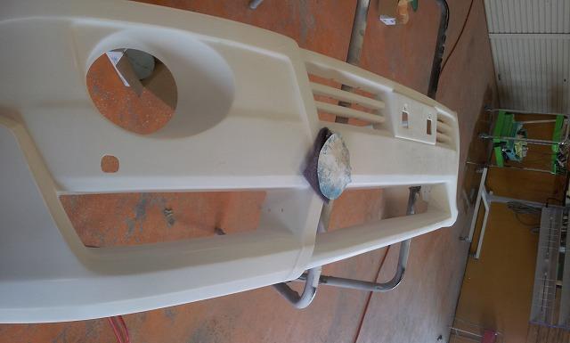 ランクル200 後期 ZX デモカー製作エアロ マフラー ブランニュー_b0127002_019469.jpg