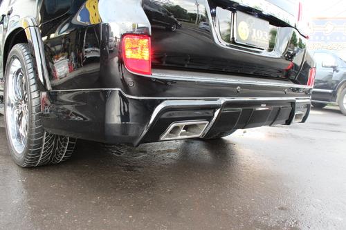 ランクル200 後期 ZX デモカー製作エアロ マフラー ブランニュー_b0127002_0282613.jpg