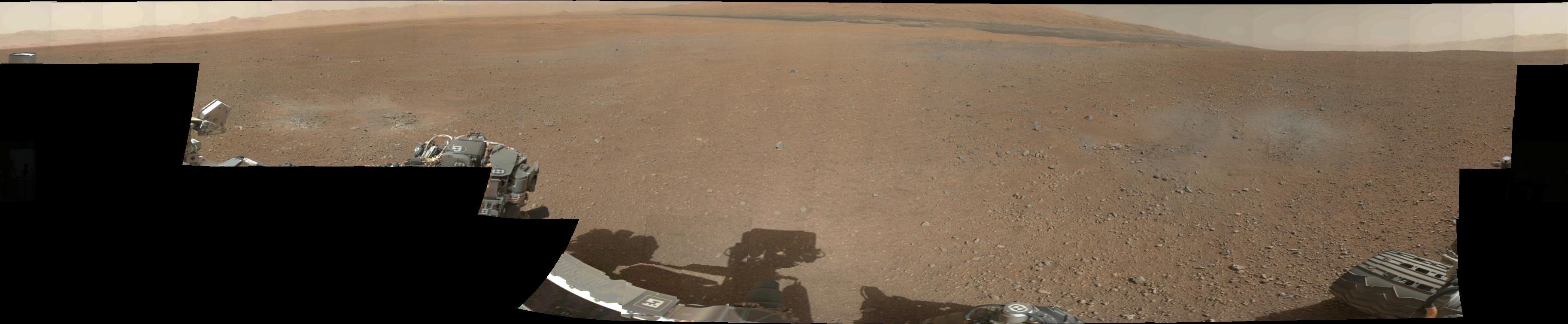 最新の火星探査車キュリオシティが捉えた火星の様子_d0063814_11102288.jpg