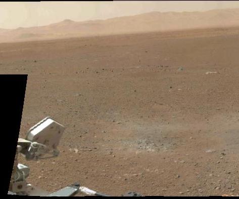 最新の火星探査車キュリオシティが捉えた火星の様子_d0063814_1111392.jpg