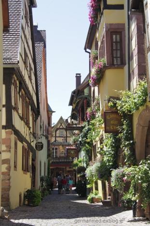 「ワイン街道の真珠」、Riquewihr_d0144726_5182135.jpg