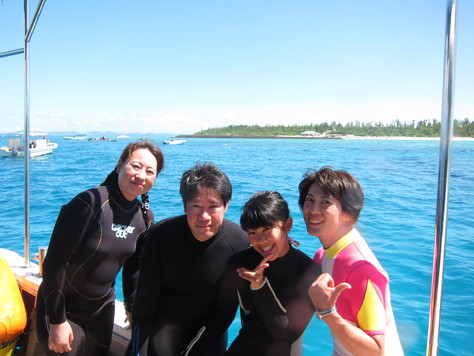 8月13日慶良間ダイビングVS水納島ダイビング_c0070933_2331829.jpg