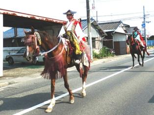 「福島 相馬野馬追い 報告」             残暑お見舞い申し上げます_e0088256_0365098.jpg