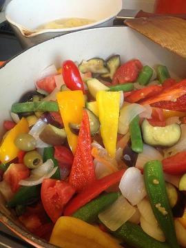野菜とスイーツで夏バテ知らず。_e0078359_19525352.jpg
