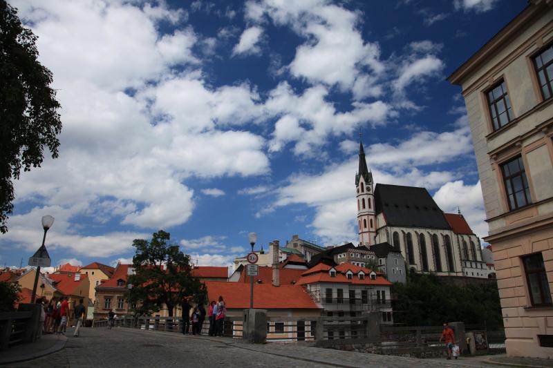 チェスキークルムロフの旧市街_c0187779_4434262.jpg