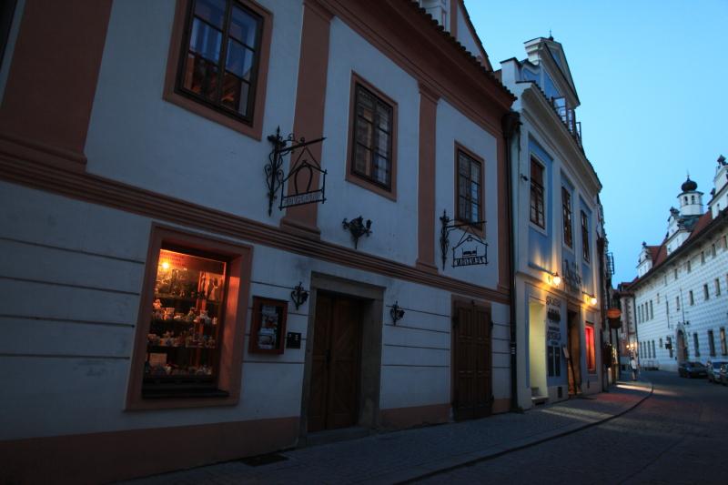 チェスキークルムロフの旧市街_c0187779_733322.jpg