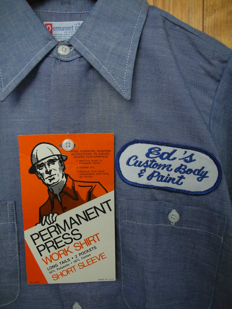 CUSTOM PATCHED NEW OLD STOCK WORK SHIRT_c0187684_16102552.jpg